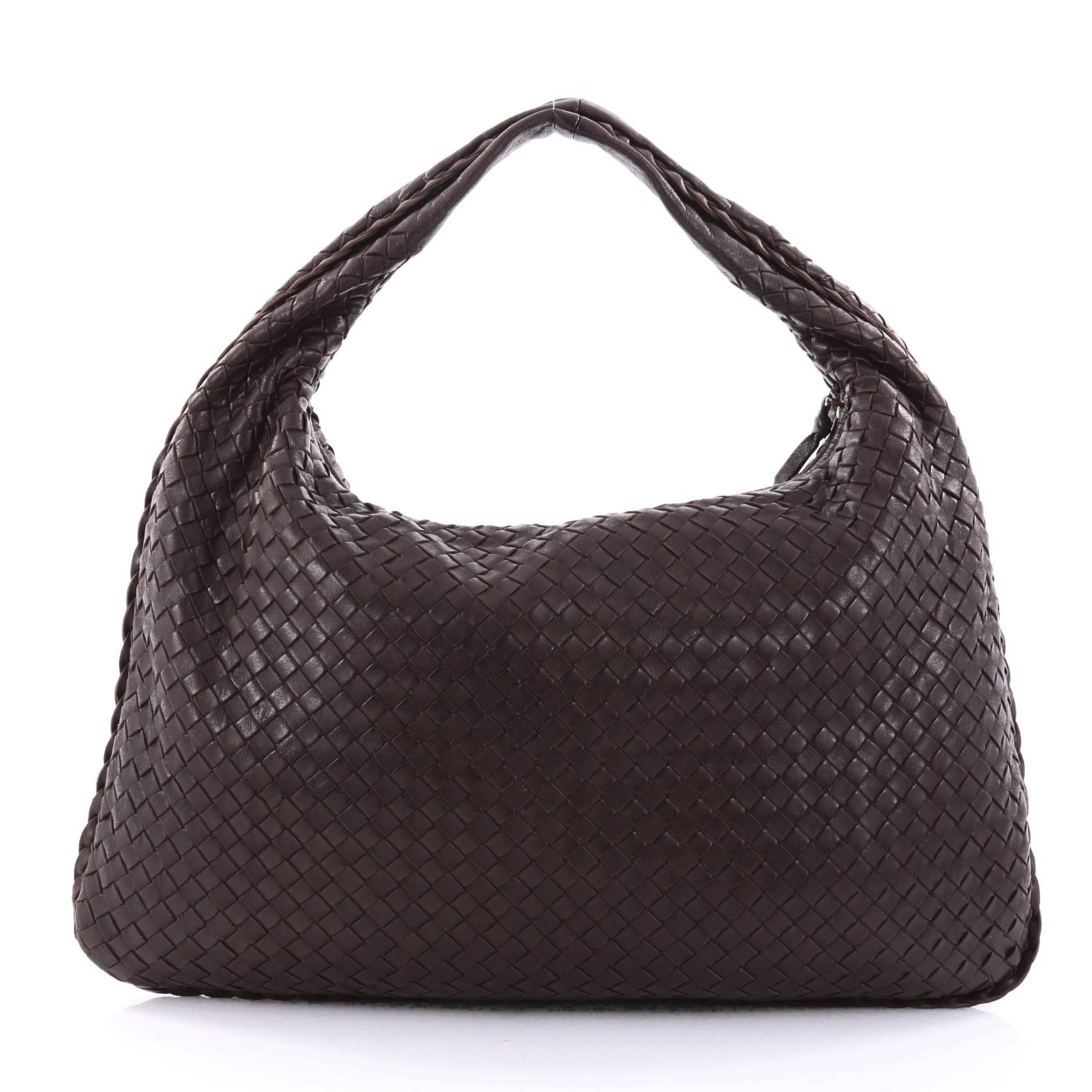 Bottega Veneta Veneta Hobo Intrecciato Nappa Large at 1stdibs 5f21a575abcae