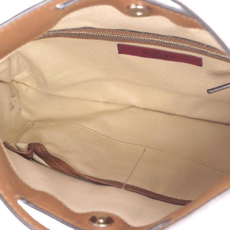 Valentino Glam Lock Convertible Medium Shoulder Bag Leather  For Sale 2