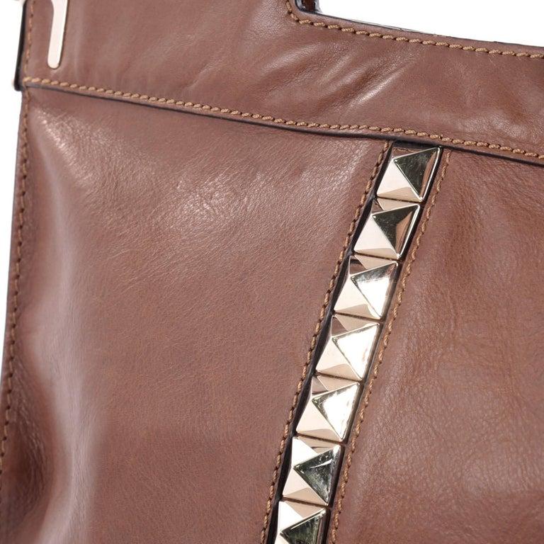 Valentino Glam Lock Convertible Medium Shoulder Bag Leather  For Sale 1