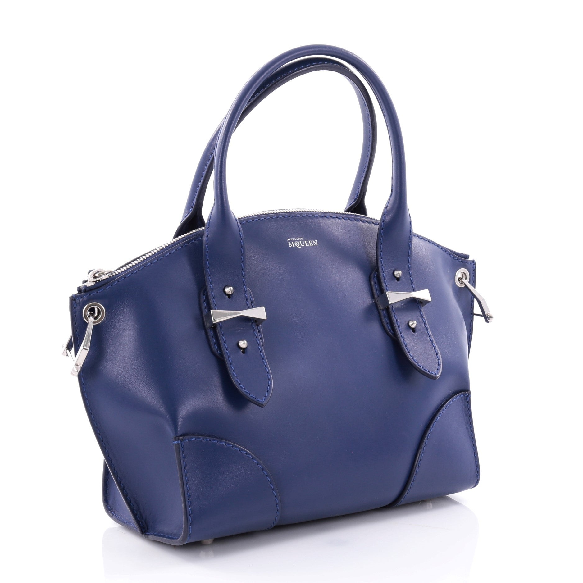 Alexander McQueen Alexander Mcqueen Legend Convertible Satchel Leather Small B4F8D