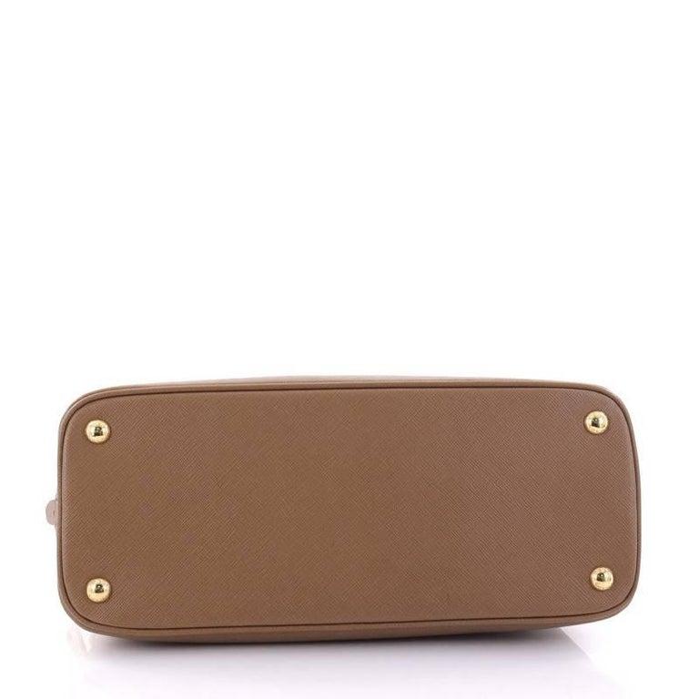 Women's or Men's Prada Promenade Handbag Saffiano Leather Medium For Sale