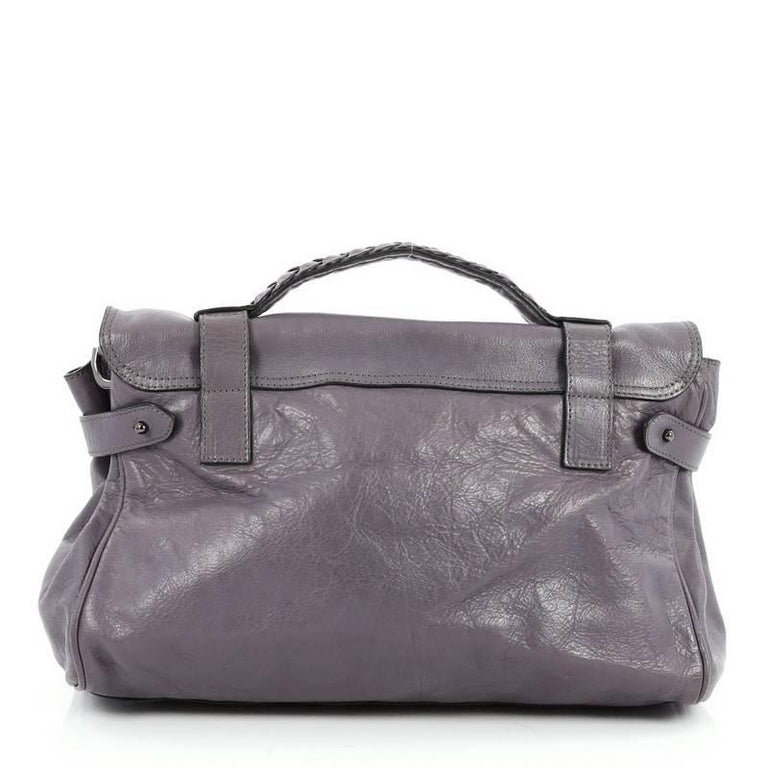 59c62c0bd1 Mulberry Alexa Satchel Soft Buffalo Medium In Good Condition For Sale In  New York
