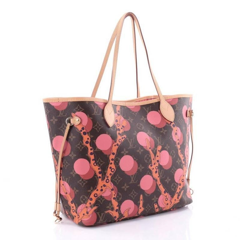 Brown Louis Vuitton Neverfull NM Tote Limited Edition Monogram Canvas MM  For Sale d222107c8ff7f