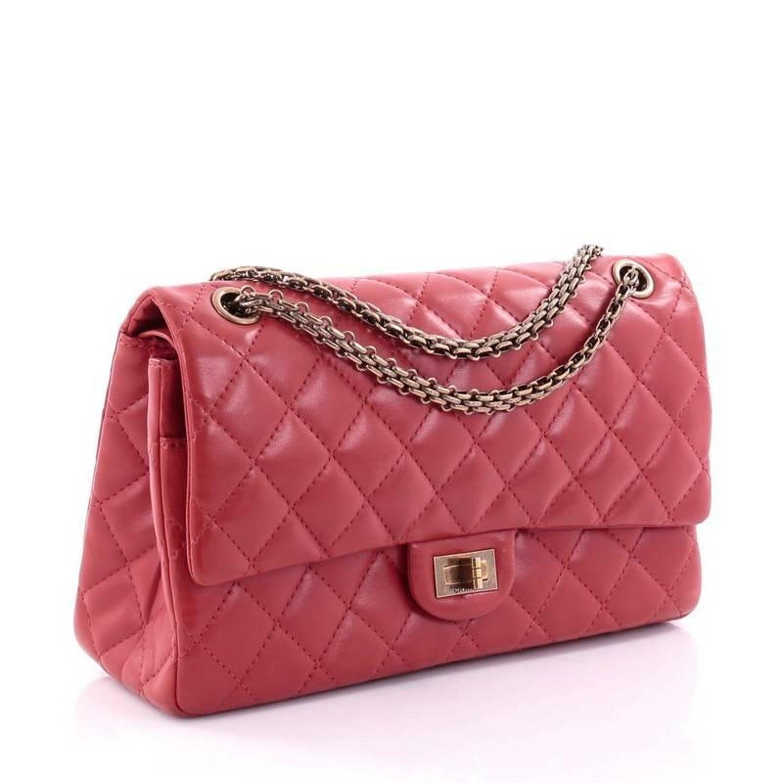 602af4b4820b41 Chanel Reissue 2.55 Handbag Quilted Lambskin 226 at 1stdibs