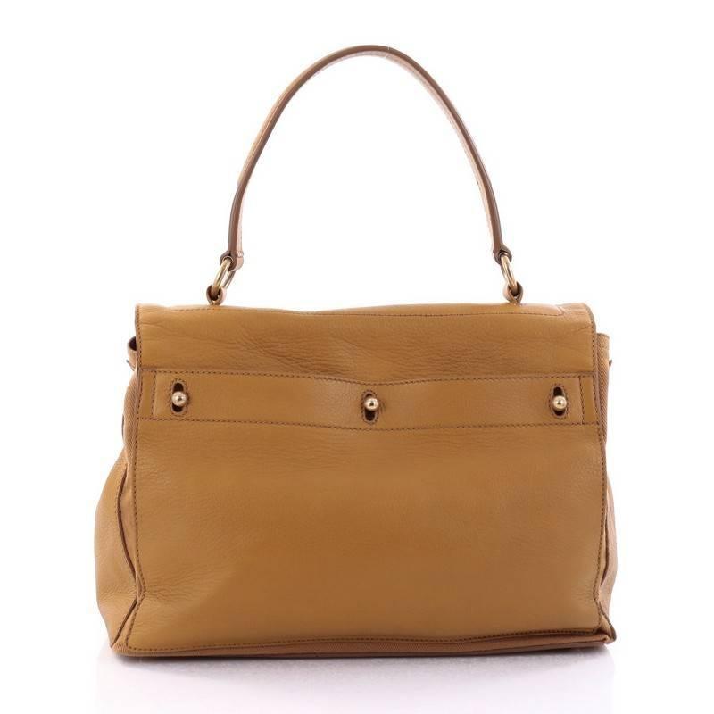 1stdibs Saint Laurent Muse Two Handbag Leather With Canvas Medium 9ErZN