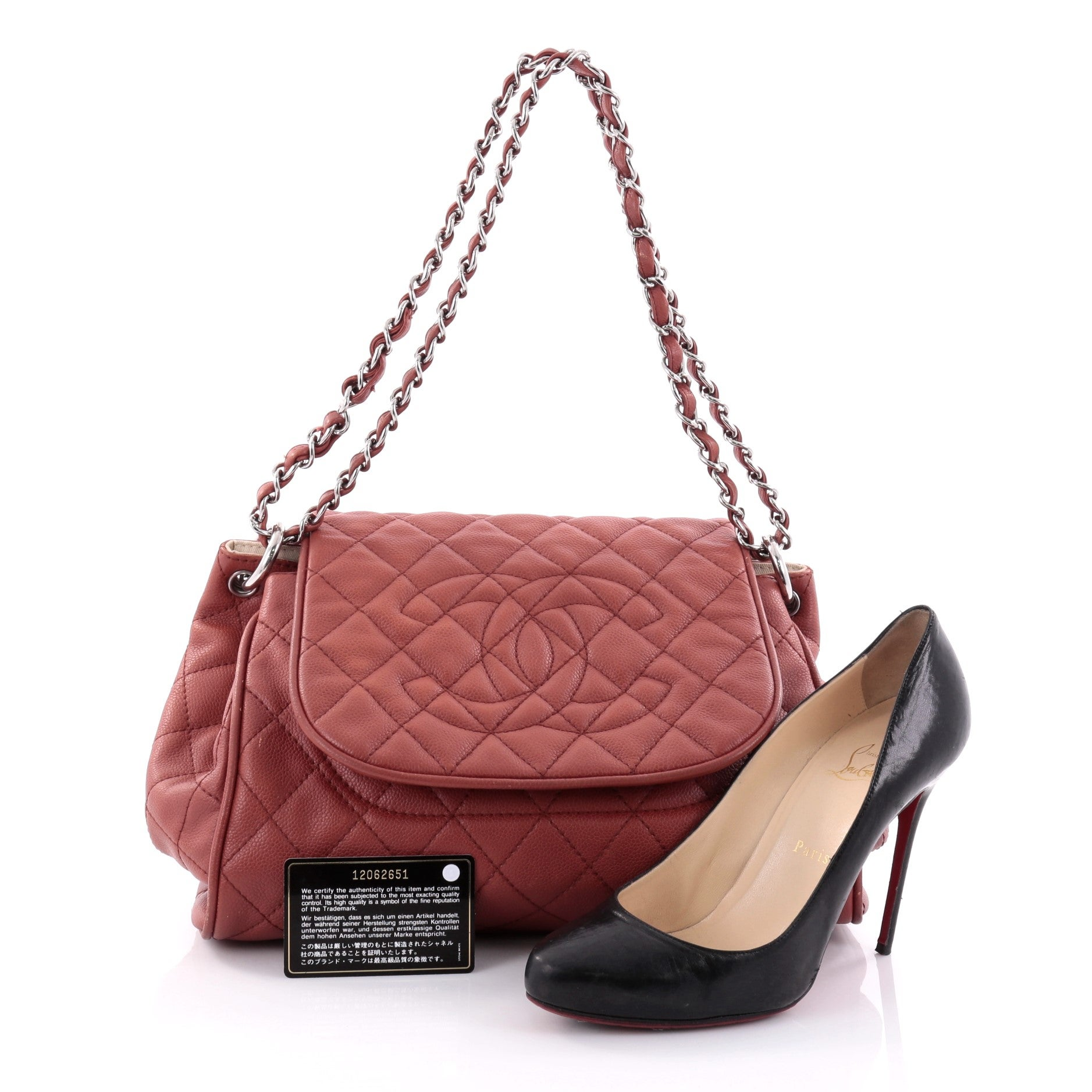 ddf2ff4fac2e Chanel Timeless Accordion Flap Bag Quilted Caviar at 1stdibs