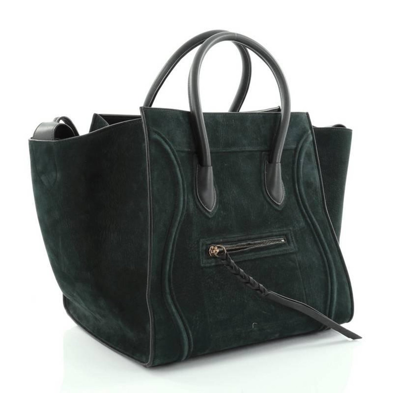 Celine Phantom Handbag Nubuck Medium at 1stdibs e59c17f9b2a99