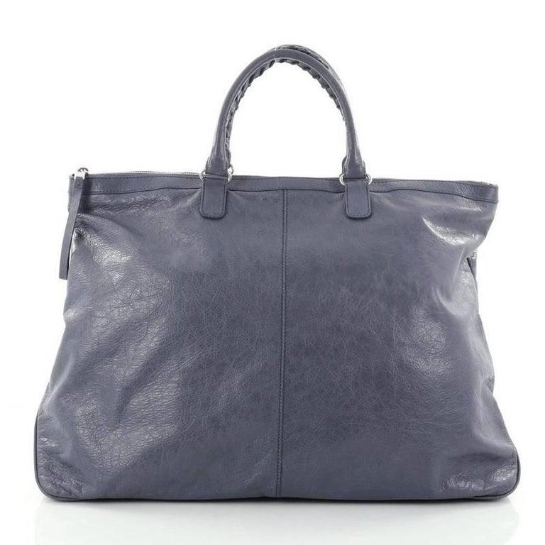 f19fbc7ee00a Balenciaga Arena Travel Bag Classic Studs Leather at 1stdibs