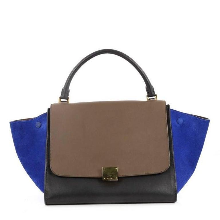 7b43c39da Celine Trapeze Leather Handbags | Stanford Center for Opportunity ...