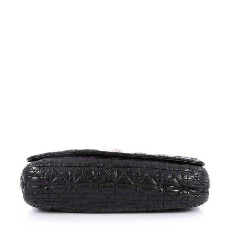 f94ea6133f03 Women s Christian Dior Rendez Vous Flap Bag Cannage Quilt Lambskin Medium  For Sale