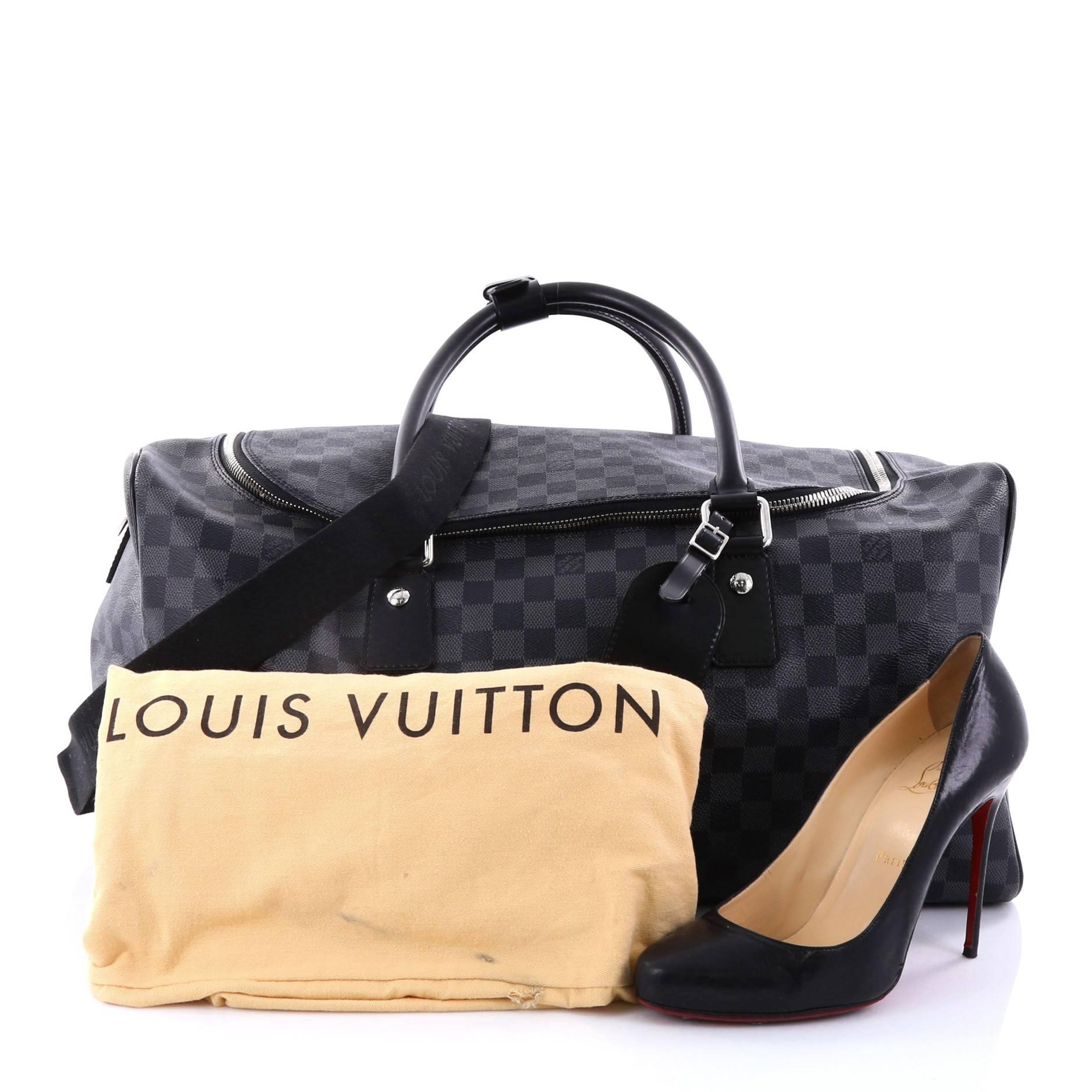 063231d50846 Louis Vuitton Roadster Handbag Damier Graphite at 1stdibs