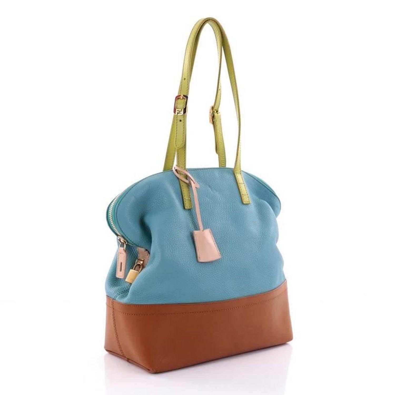Fendi Tricolor 2Bag Leather at 1stdibs 4940473bf07b2