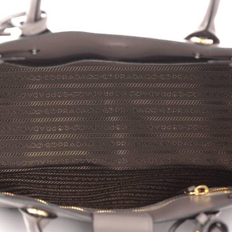 a6938c8e577b Prada Soft Bibliotheque Handbag City Calfskin Medium For Sale 1