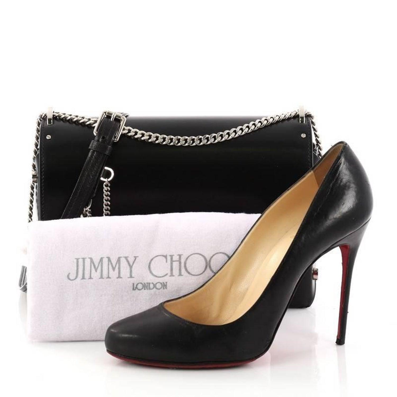 92f9eabdcb Jimmy Choo Lockett Petite Shoulder Bag Leather at 1stdibs