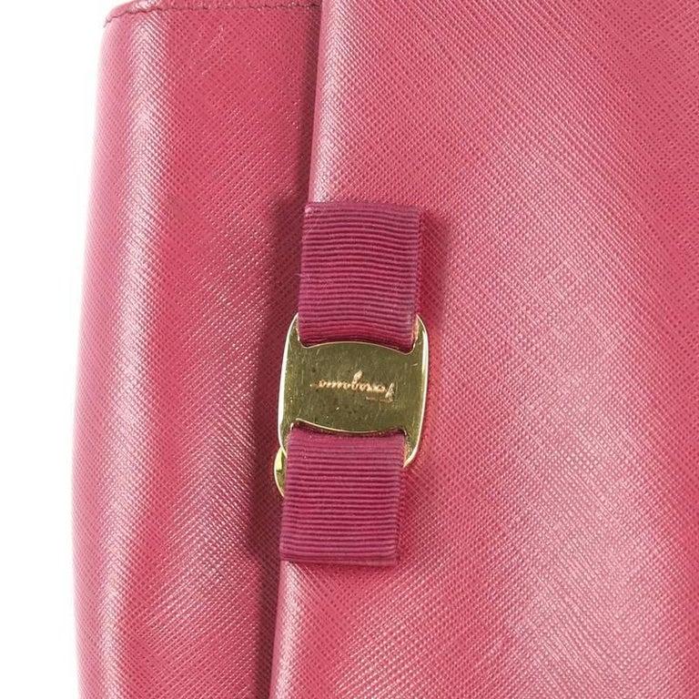 9273b2d0f905 Salvatore Ferragamo Ginny Crossbody Bag Saffiano Leather Small For Sale 1
