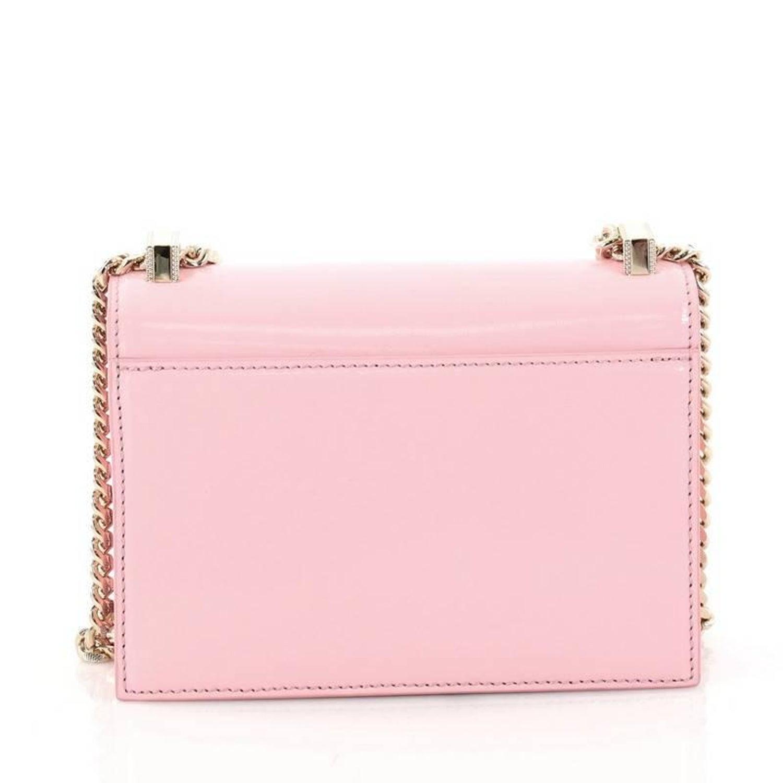 9228654021e Versace Patent Mini Diamante Shoulder Bag at 1stdibs