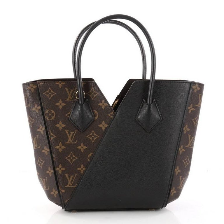 Louis Vuitton Kimono Handbag Monogram Canvas And Leather PM In Good Condition For Sale In New York, NY