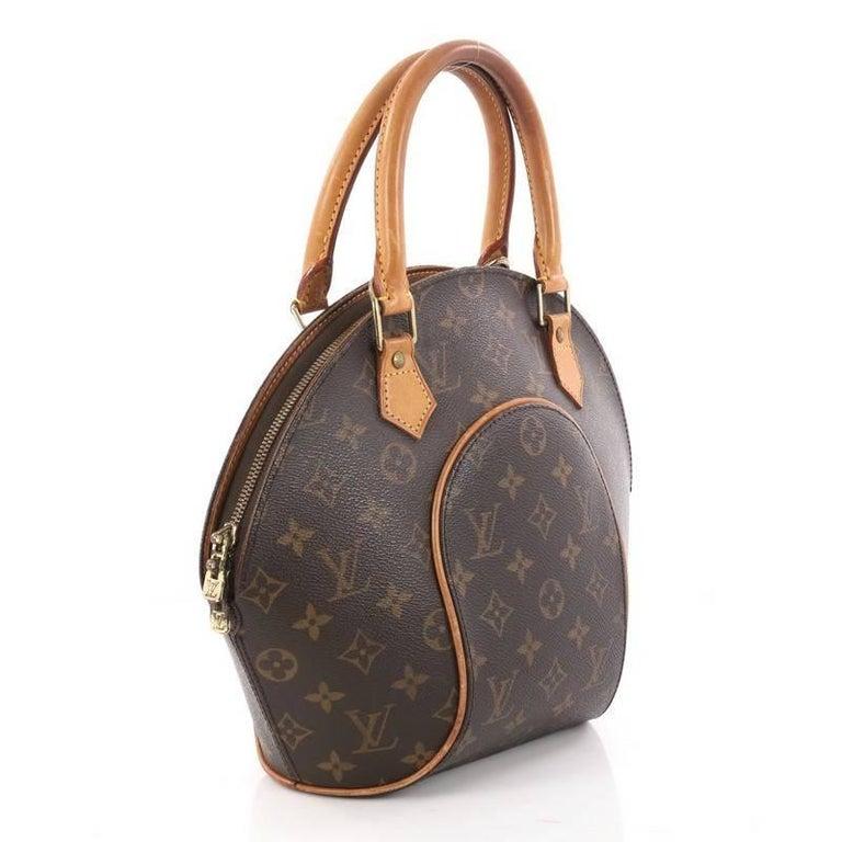 Black Louis Vuitton Ellipse Bag Monogram Canvas Pm For
