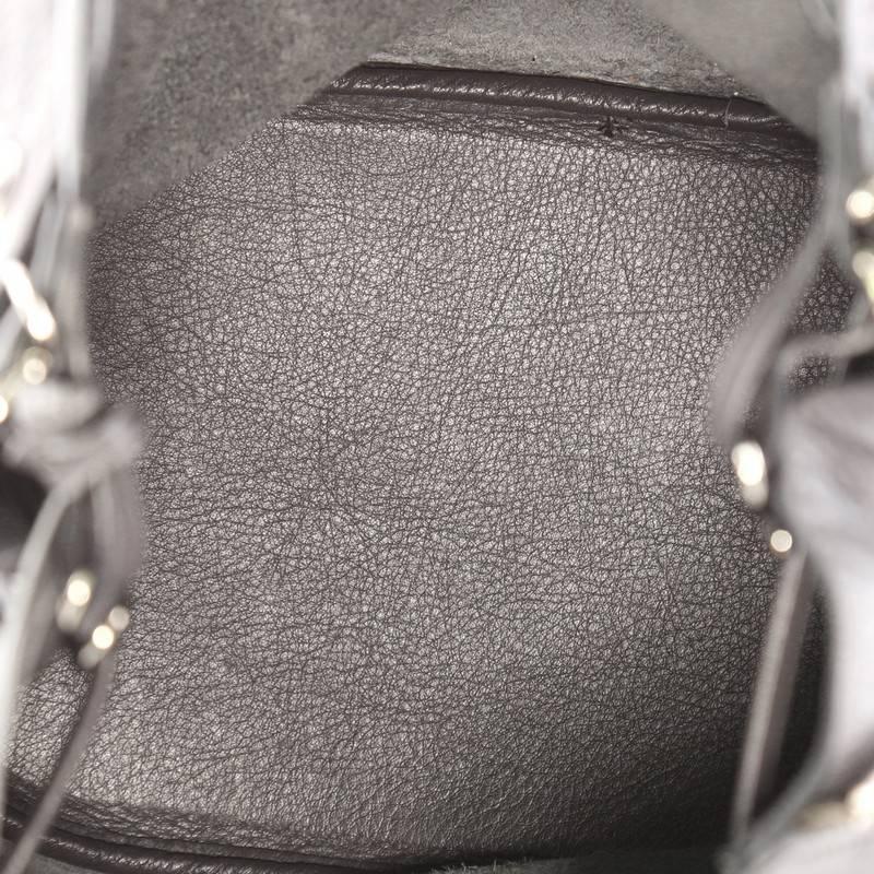 Balenciaga Papier Plate Bucket Bag Leather Small at 1stdibs 9202cf25c47cd