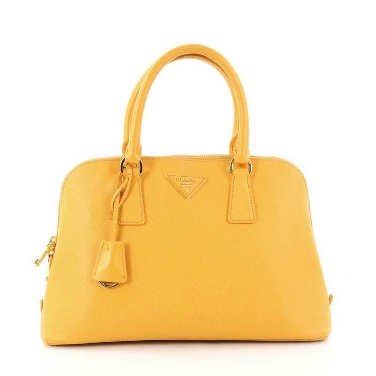 e56eb7ed65bd Prada Promenade Handbag Saffiano Leather Medium at 1stdibs