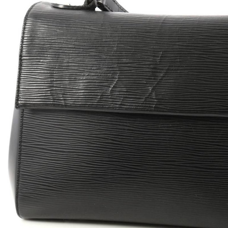 53a98b4b48a5 Louis Vuitton Cluny Epi Leather BB Top Handle Bag at 1stdibs