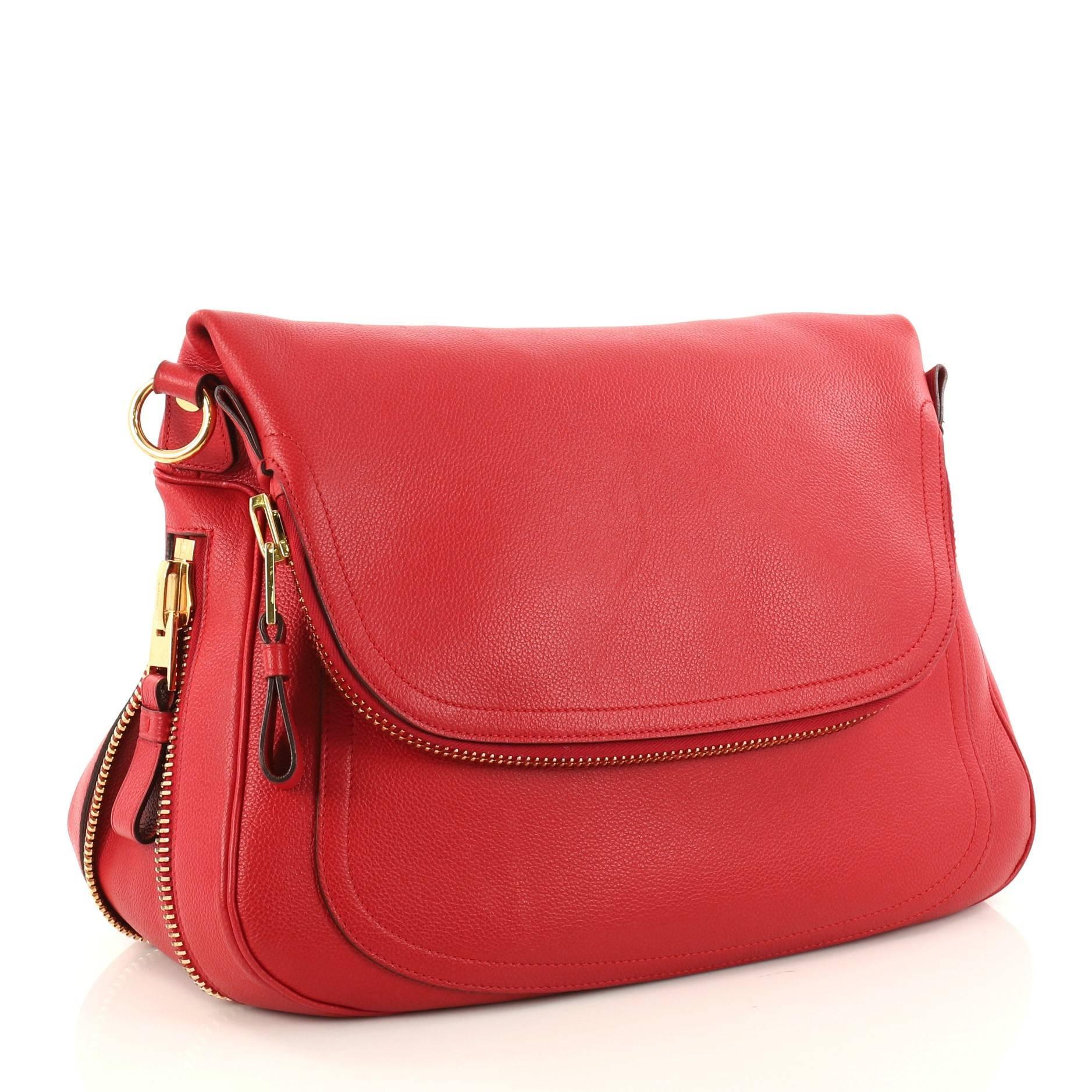 eeeb0a559bad5a Tom Ford Jennifer Shoulder Bag Leather Medium at 1stdibs