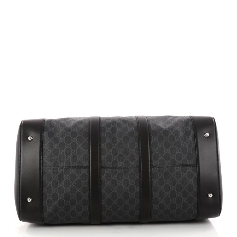 ac57a556ac85 Women's Gucci Convertible Duffle Bag GG Coated Canvas Large For Sale