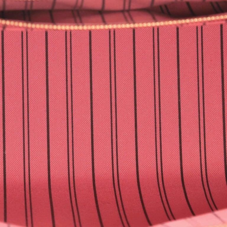 Louis Vuitton Pont Neuf Handbag Monogram Empreinte Leather MM For Sale 1