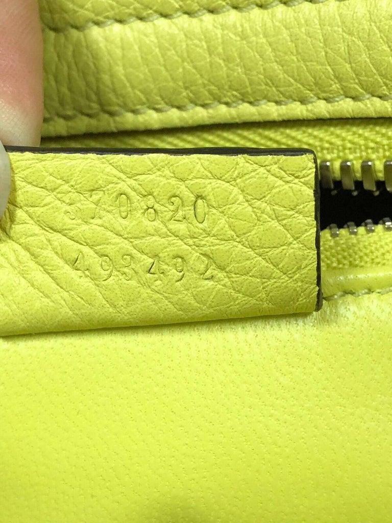 941e733b7b7b Gucci Ramble Layered Tote Pebbled Leather Medium at 1stdibs