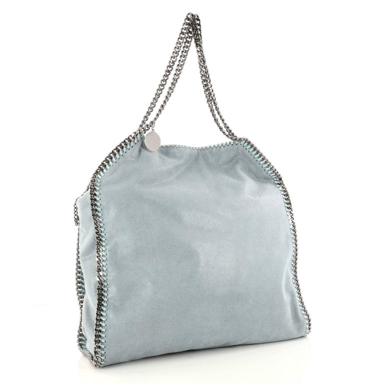 Gray Stella McCartney Falabella Tote Shaggy Deer Large For Sale beccc87a689cd