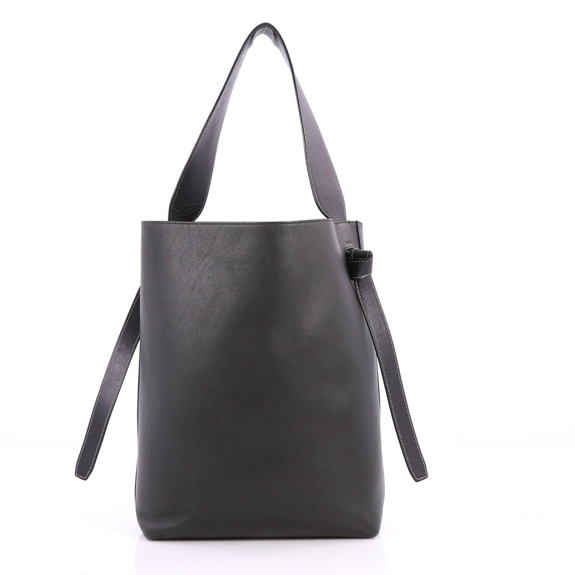 Celine Twisted Cabas Tote Calfskin Small at 1stdibs 07e2f6004a0bf