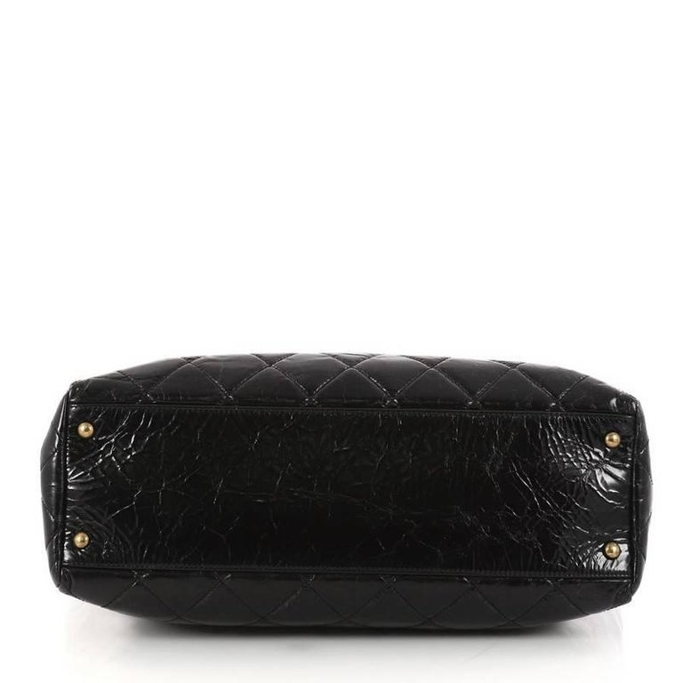 9ae00fcaf37aa2 Women's Chanel Rita Tote Quilted Glazed Crackled Calfskin Small For Sale