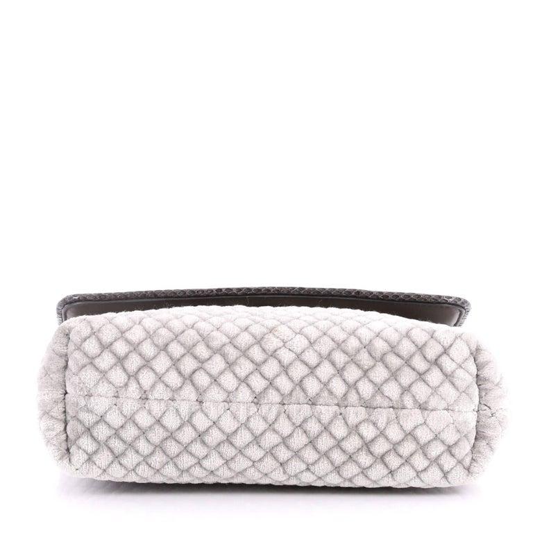 Women's Bottega Veneta Olimpia Crossbody Bag Intrecciato Velvet Baby  For Sale