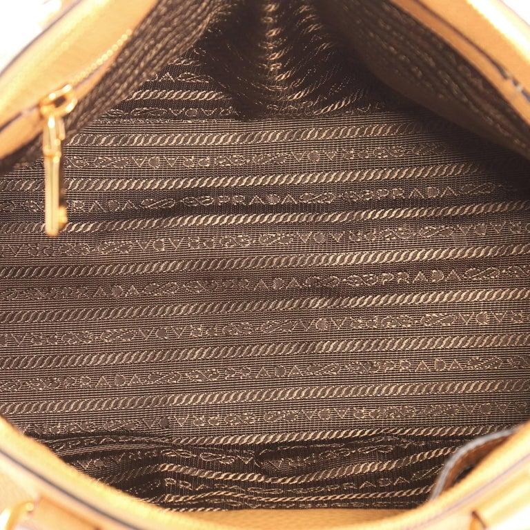 9adf094f255c Prada Zip Around Convertible Dome Satchel Vitello Daino Medium For Sale 3