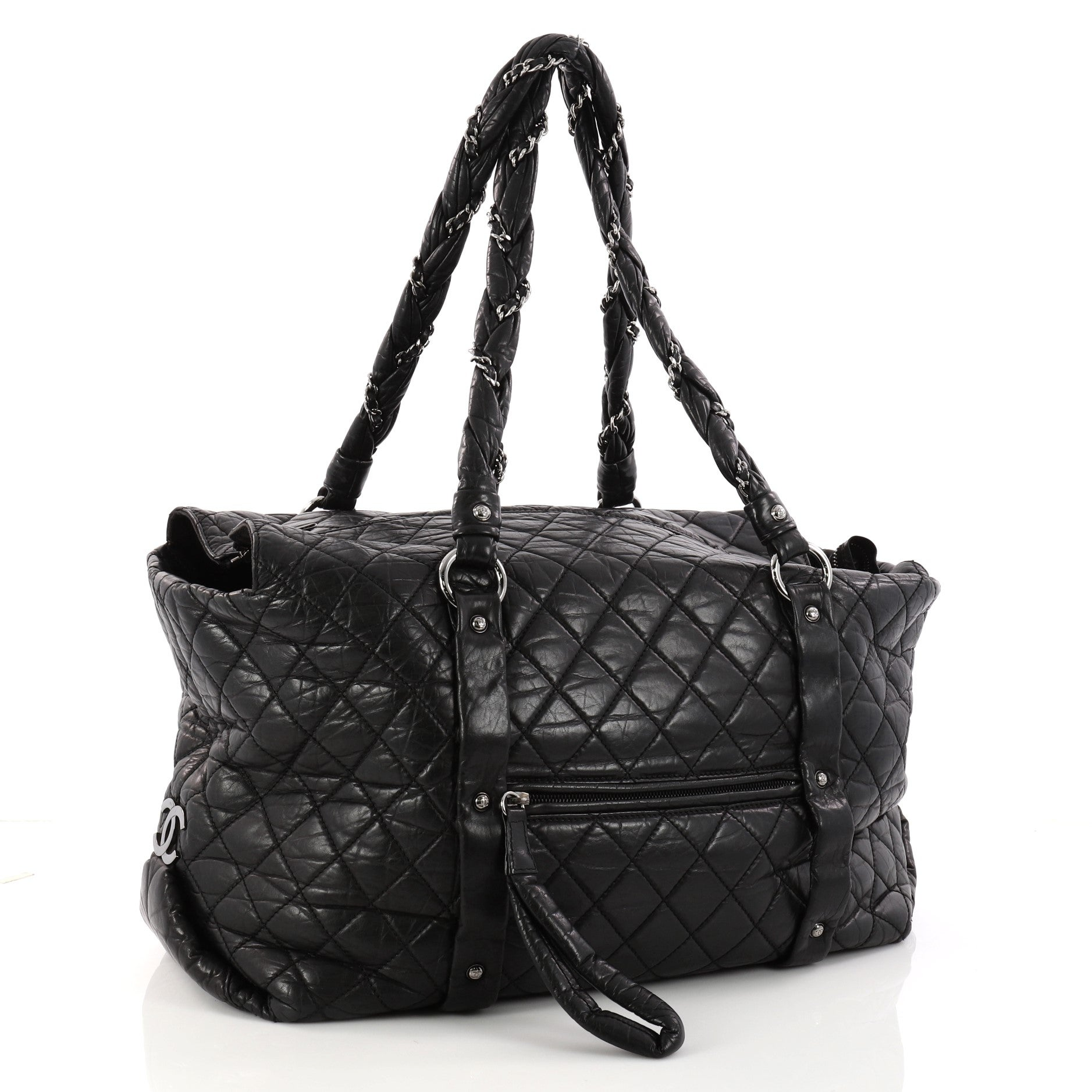9560bce062457d Chanel Ligne Lady Braid Quilted Leather XL Tote at 1stdibs