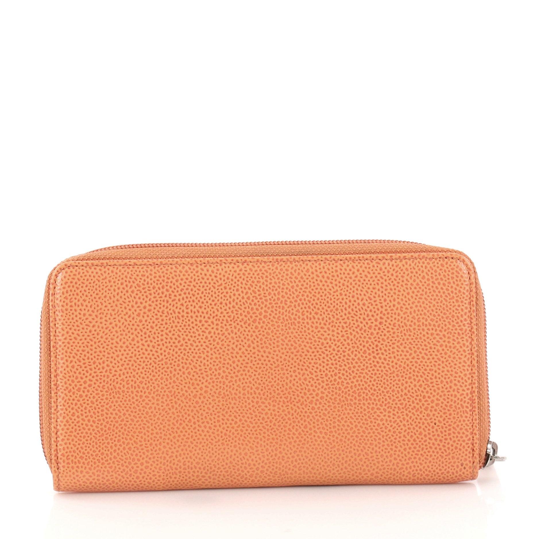 0501f3087886 Chanel Timeless CC Zipped Wallet Caviar Long at 1stdibs
