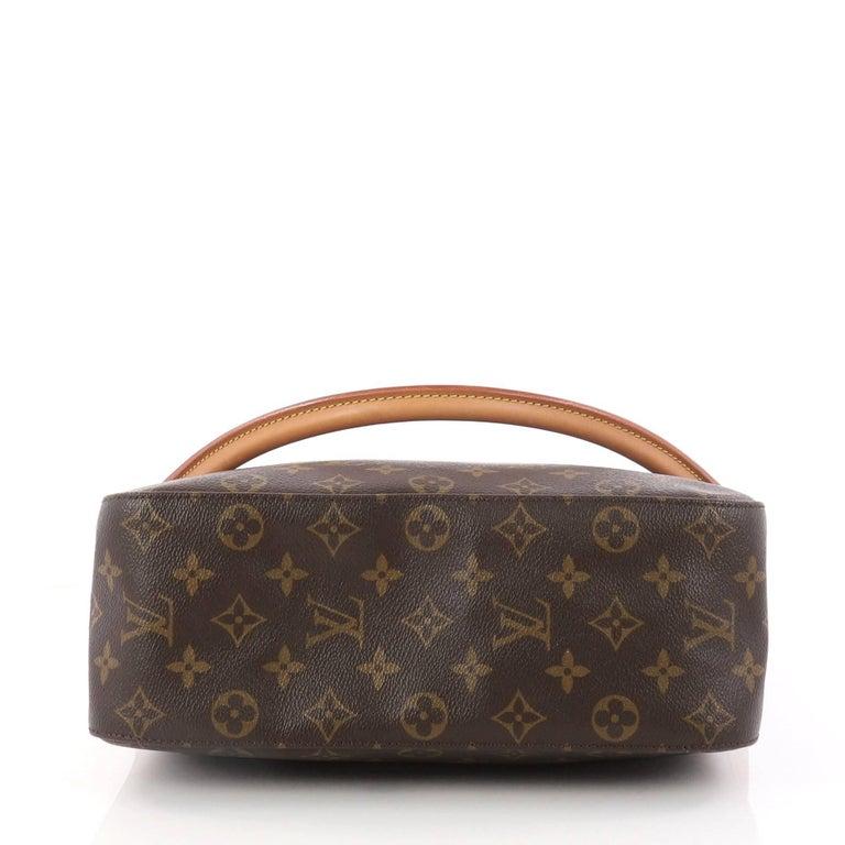 Women S Louis Vuitton Looping Handbag Monogram Canvas Gm For