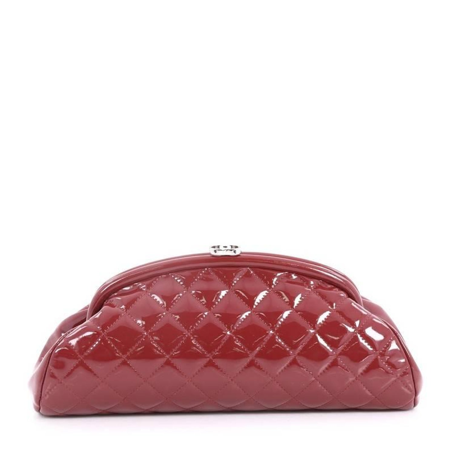034d535b1e3927 Chanel Timeless Clutch Quilted Patent at 1stdibs