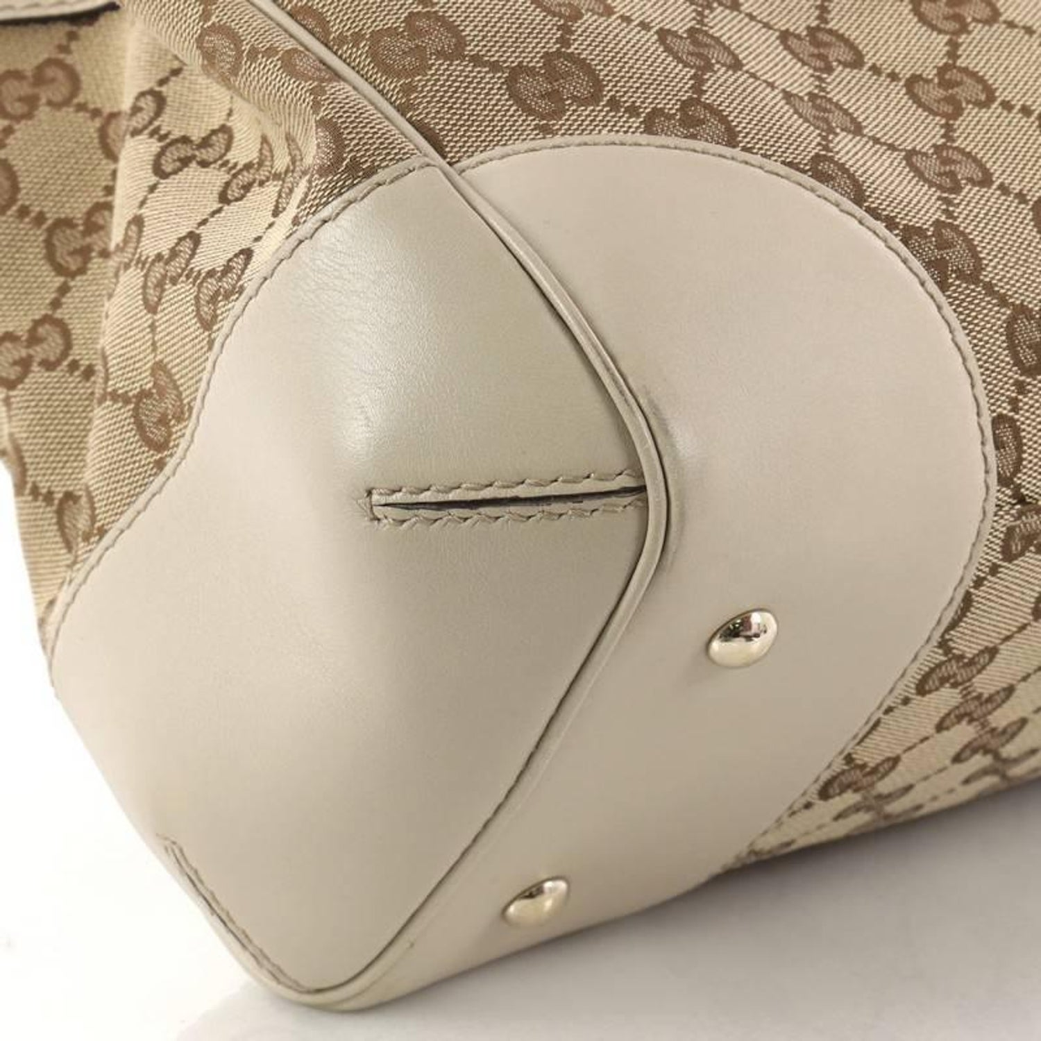 213b1df0b7f Gucci Mayfair Satchel GG Canvas Medium at 1stdibs