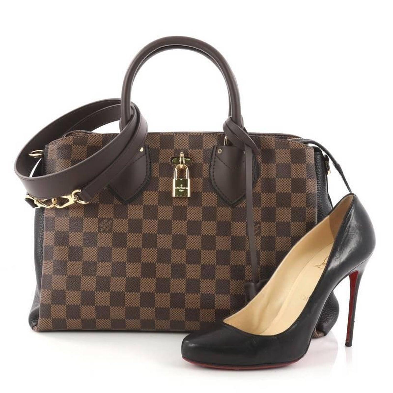 Louis Vuitton Normandy Handbag Damier at 1stdibs 33300811ed1cf