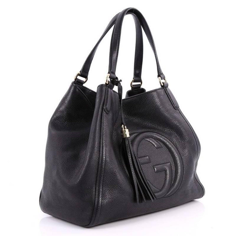 daf8be889caca4 Gucci Soho Shoulder Bag Leather Medium at 1stdibs