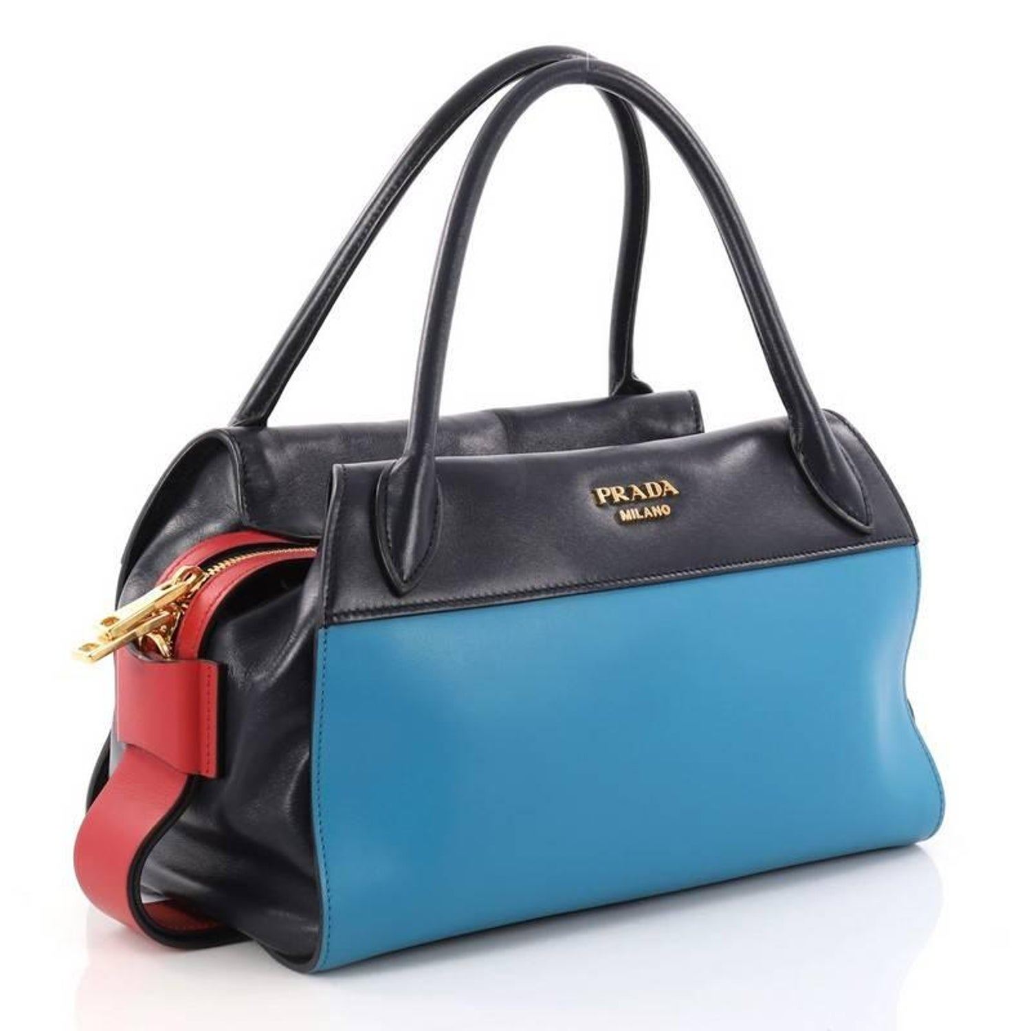 Prada Bowling Ribbon Bag City Calf at 1stdibs c73824a60c97a