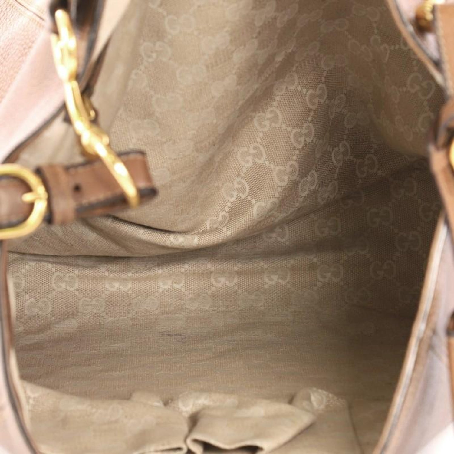 58a0cc2c7235 Gucci Harness Hobo Leather Large at 1stdibs
