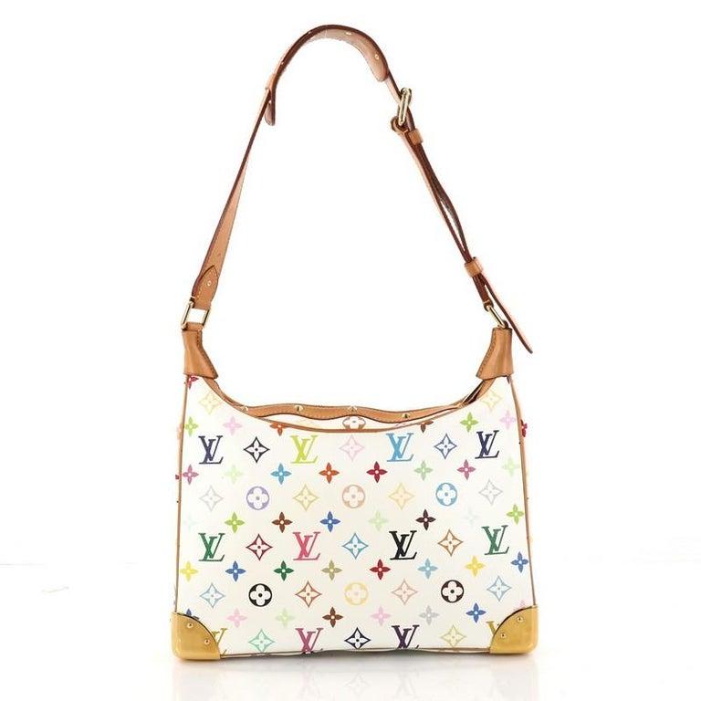 Louis Vuitton Boulogne Handbag Monogram Multicolor In Good Condition For  Sale In New York, NY c20a06e4de