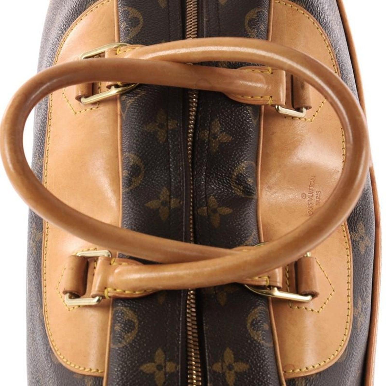 1a1ac3ab6686 Brandoff Authentic Louis Vuitton Deauville Handbag M47270 Monogram
