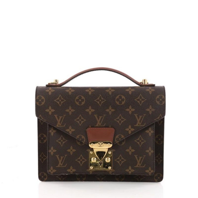 3cb96210af48 Louis Vuitton Monceau Handbag Monogram Canvas at 1stdibs