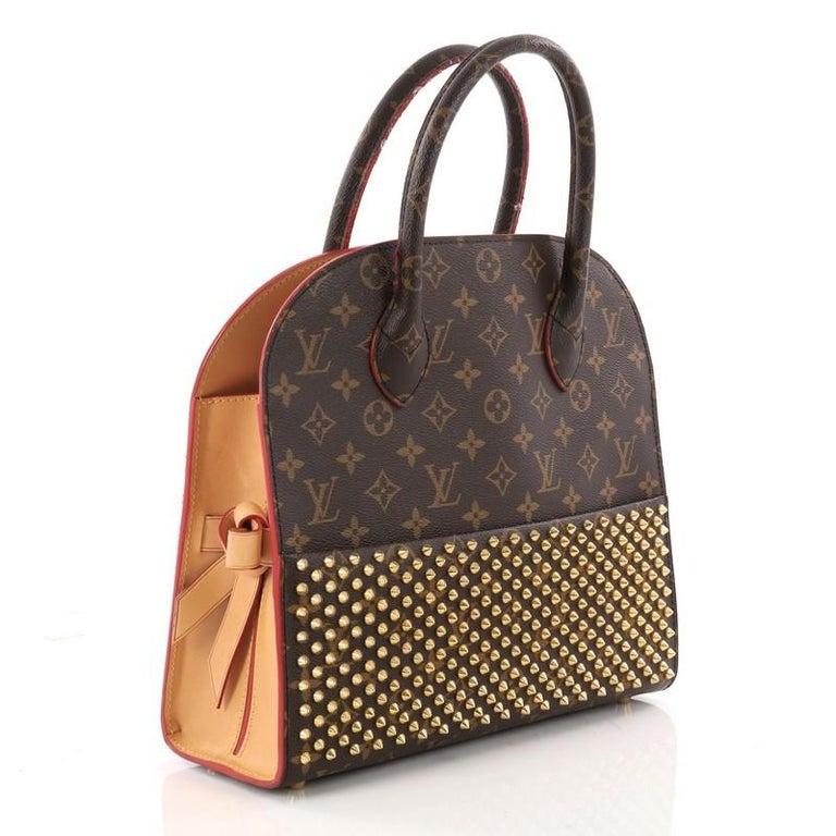 9bd0afd771c2 Louis Vuitton Limited Edition Christian Louboutin Shopping Bag Calf ...