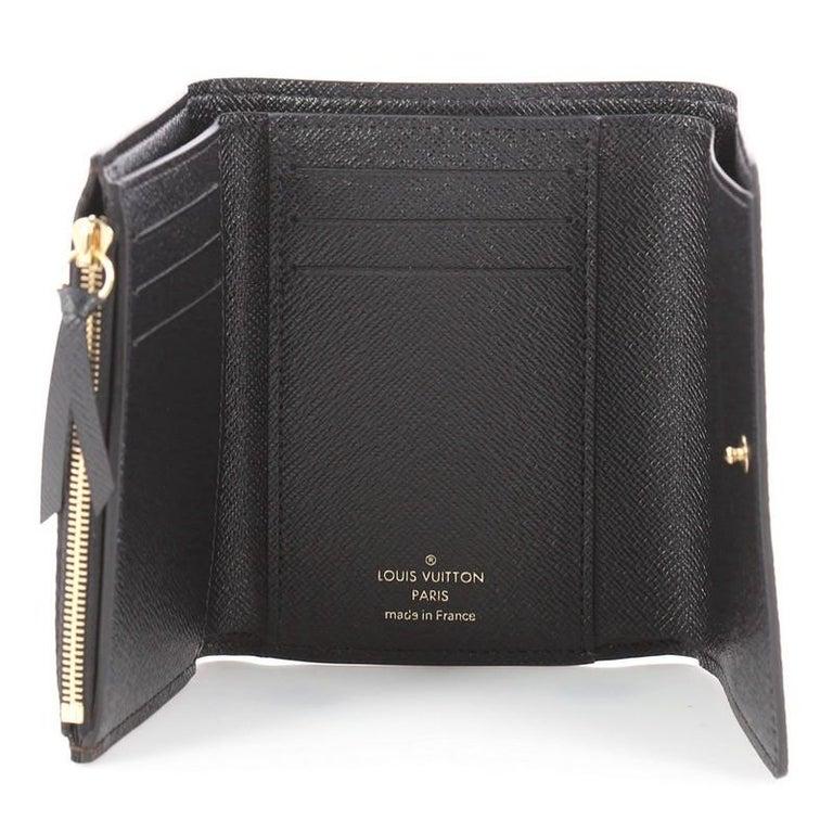 b79877b58058 Louis Vuitton NM Compact Victorine Wallet Limited Edition Kabuki Monogram  Canvas For Sale 1