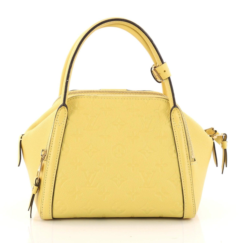 1fad00590a77 Louis Vuitton Marais Handbag Monogram Empreinte Leather BB at 1stdibs