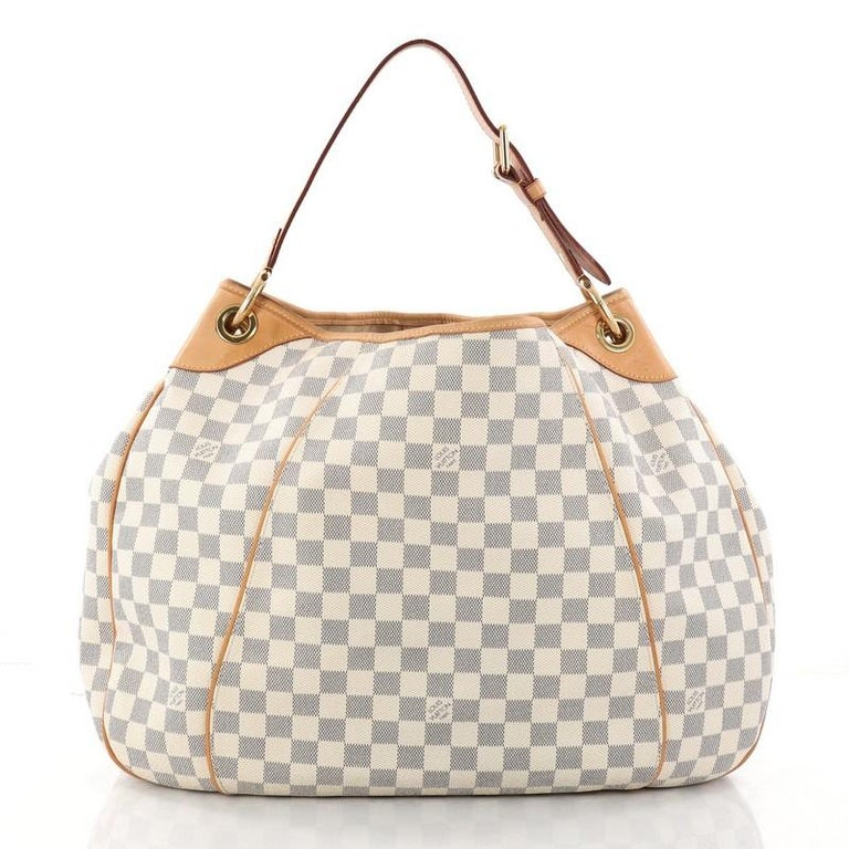 bae54df0bb9 Louis Vuitton Galliera Handbag Damier GM In Good Condition For Sale In New  York, NY